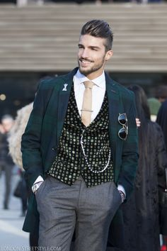 Mariano di Vaio | London Streetstyle                                                                                                                                                                                 More