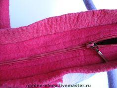 """Купить сумка """"цветное настроение"""" - Сумки, валяная сумка, женская сумка, 100% шерсть"""