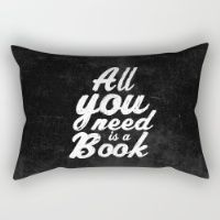 All You Need Is A Book Rectangular Pillow