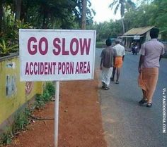 Be careful. Naked people ahead. | 29 Spelling Mistakes From India That Will Make You Laugh, Cry, And Gag