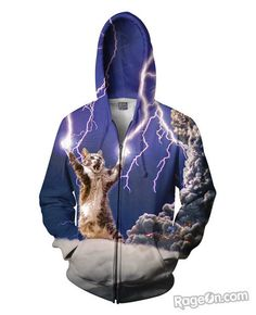 Thundercat Zip-Up Hoodie *Ready to Ship* - RageOn! - The World's Largest All-Over-Print Online Store