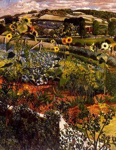 Rowborough. Cookham. - Stanley Spencer