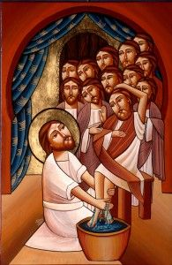 The Servant Master Washing Disciples Feet Religious Images, Religious Icons, Religious Art, Christian Images, Christian Art, Image Jesus, Christian Paintings, Christian Religions, Biblical Art