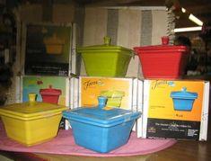 Fiesta® Square Covered Boxes | Rebel Dish Barn