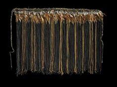 pake karure (waist or shoulder garment) Registration No - collections_tepapa_govt_nz Flax Weaving, Maori Designs, Maori Art, Textiles, Cloak, Tapestry, Pattern, Aprons, Wall Hangings