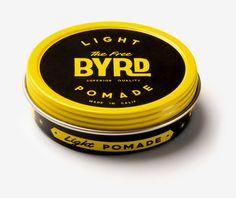 Byrd Light Pomade 2.5 oz. #grooming #hair #nattyguy