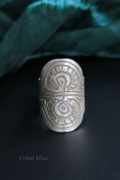 OLD TRIBAL RING - Vintage Tribal Jewelry from the Kashmir Valley by TribalMuse on Etsy