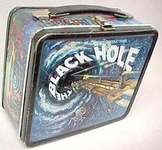 Lunch Boxes Photo: The Black Hole Vintage 1979 Lunch Box Lunch Box Thermos, Tin Lunch Boxes, Vintage Lunch Boxes, Metal Lunch Box, Bento Box Lunch, Whats For Lunch, Out To Lunch, The Black Hole Movie, Historia Universal