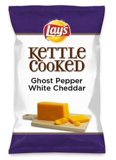 Wouldn't Ghost Pepper White Cheddar be yummy as a chip? Lay's Do Us A Flavor is back, and the search is on for the yummiest flavor idea. Create a flavor, choose a chip and you could win $1 million! https://www.dousaflavor.com See Rules.