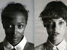 From the Archives: Best of the '90s - Naomi Campbell and Linda Evangelista 1998-Wmag