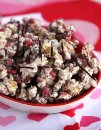 Oreo's and Red Hots? Count me in! Cinnamon Cookie Crunch Popcorn
