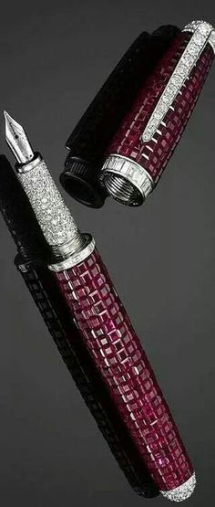 Ruby-and-Diamond-Fountain-Pen. every writer needs a beautiful pen!