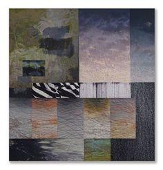 """Land's End: Quiet Hour  -  Michael james  Quiet hour  cotton & dyes  50.5"""" h  x  53.75"""" w"""