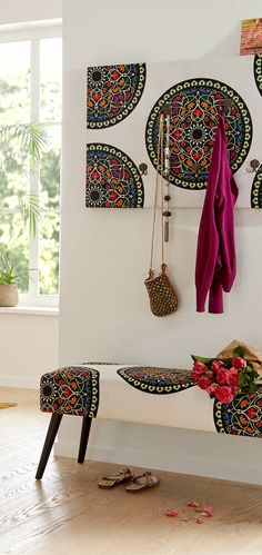Schöne Muster bringen gute Laune in die Wohnung.