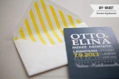 Makea - Hääblogi: DIY: Kirjekuorten sisustat