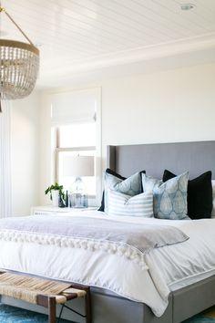 BECKI OWENS- Estillo Project: Modern Coastal Master Bedroom