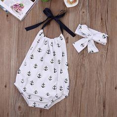 Newborn Baby Boys Girls Bodysuit Outfit Costume Playsuit Romper Clothes Set #ebay #Home & Garden