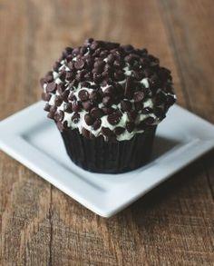 Chocolate Mint Cupcake. Gluten Free and Vegan
