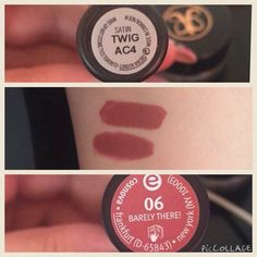 MAC Twig = Essence 06 Barely There #dupe #lipstick