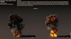 Houdini 12 Pyro - Shape Settings Tests (Explosions) on Vimeo