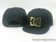 DC Shoes Snapback Caps Anjustable Hats Golden Metal Logo Black 108|only US$20.00 - follow me to pick up couopons.