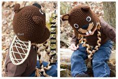 NEW PATTERN - Canadian Justin The Beaver Hat - Crochet PDF Pattern on Etsy, $6.27