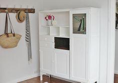 Scrub me Down and Paint me White Vintage Dresser DIY