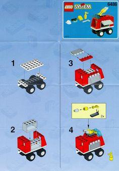 Rescue - Fire Engine [Lego 6486]