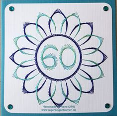 Grußkarten-Set 216 - Kundenauftrag für einen 60.Geburtstag