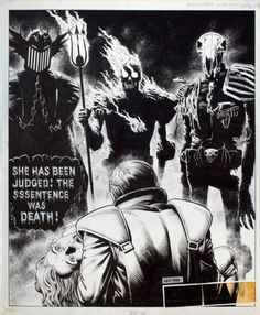 Dark Judges Fear, Fire and Mortis (Bolland)