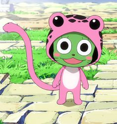 Frosch is an Exceed and a member of the second strongest Guild in Fiore: Sabertooth. He is also a member of its team, the Twin Dragons of Sabertooth, being Rogue Cheney's partner. Name: Frosch Fairy Tail Cat, Fairy Tail Funny, Fairy Tail Love, Got Anime, Anime Love, Anime Fairy, Otaku, Enfants Fairy Tail, Chibi
