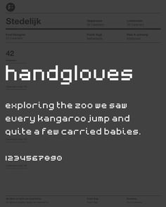 PLUS typeface. Font by Frank Vogt for Fontwerp typefoundry.