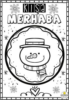 School Teacher, Pre School, Toddler Crafts, Snowman, Diy And Crafts, Doodles, Bullet Journal, Exercises, Winter