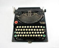Vintage Antique 1925 Remington Model 1 by vintagefindsetcetera, $150.00