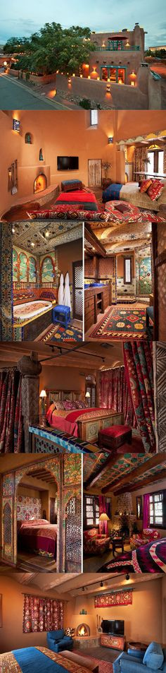Santa Fe's exquisitely detailed Inn of the Five Graces