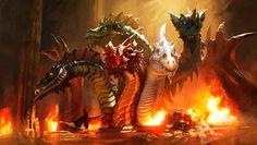 L'Apocalypse de la Fin des Temps : Où est le dragon?