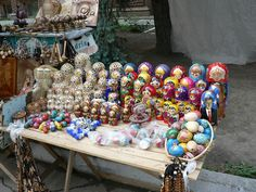 Oh how I miss the art market.... the folks that make/craft the nesting dolls are amazing artists... Chisinau, Moldova