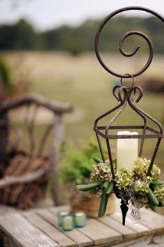 pretty idea for a lantern