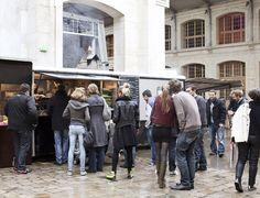 Restaurant Le Camion à Pizzas du 104 in Paris