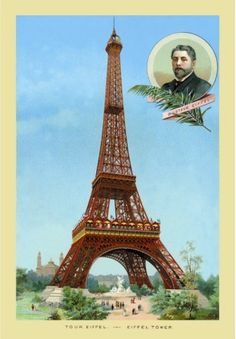 The Eiffel Tower at the Paris Exhibition, 1889