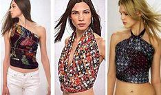 10 formas de hacer una blusa con un pañuelo