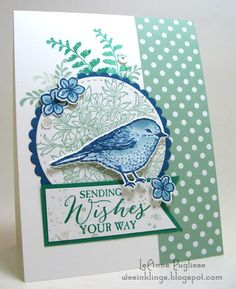 Come see what I'm doing in my stamp room! - SU - Best Birds, Awesomely Artistic