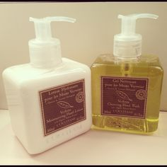 Kelly keeps her hands clean and hydrated with this pair of soap and lotion from L'OCCITANE.  Read the #KellyandMichael beauty blog by @Michelle Champagne for more tips: http://blog.livekellyandmichael.com/beauty_blog/