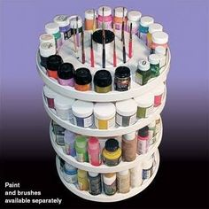bottle paint storage - Google Search