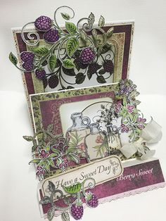 sweet day card by Alicia Barry.... Farmer's Market collection with Heartfelt Creations