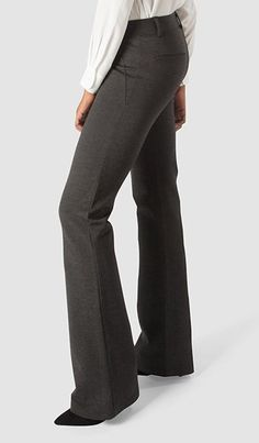 Dress Pant Yoga Pants combine elegant styling with soft, stretchy performance knit. At last, yoga . Black Dress Pants, Dress With Boots, Yoga Pants Outfit, Harem Pants, Yoga Photography, Work Attire, Comfortable Outfits, Trendy Dresses, Work Pants