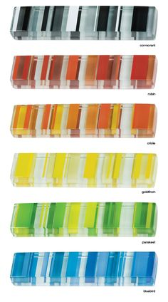 Too many choices! - Madras uses the latest technique of decorative glass tiles by fusing layers of glass and creating vibrant inserts. From Creekside Tiles