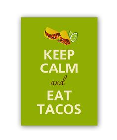 All prints printed on professional silk satin photo paper for rich vivid colors and high quality. The print will be carefully packed . Taco Love, My Taco, Mexican Menu, Mexican Tacos, Taco Tuesday Meme, Los Tacos, Tacos Mexicanos, Taquitos Al Pastor, Taco Humor