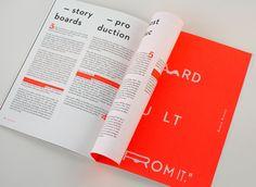 "Echa un vistazo a este proyecto @Behance:""99U Quarterly — Issue 6"" https://www.behance.net/gallery/30719123/99U-Quarterly-Issue-6"