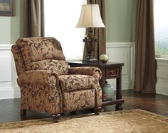 Shop Hutcherson Traditional Spice Fabric Low Leg Recliner with great price, The Classy Home Furniture has the best selection of to choose from Living Room Chairs, Living Room Decor, Living Rooms, French Country Living Room, Sofa Set, Home Decor Items, Home Furniture, Online Furniture, Recliners